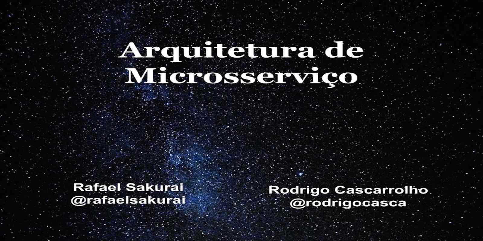 Arquitetura de Microsserviço